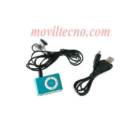 Mp3 4Gb Mini 4 GB Reproductor Musica con Clip Barato