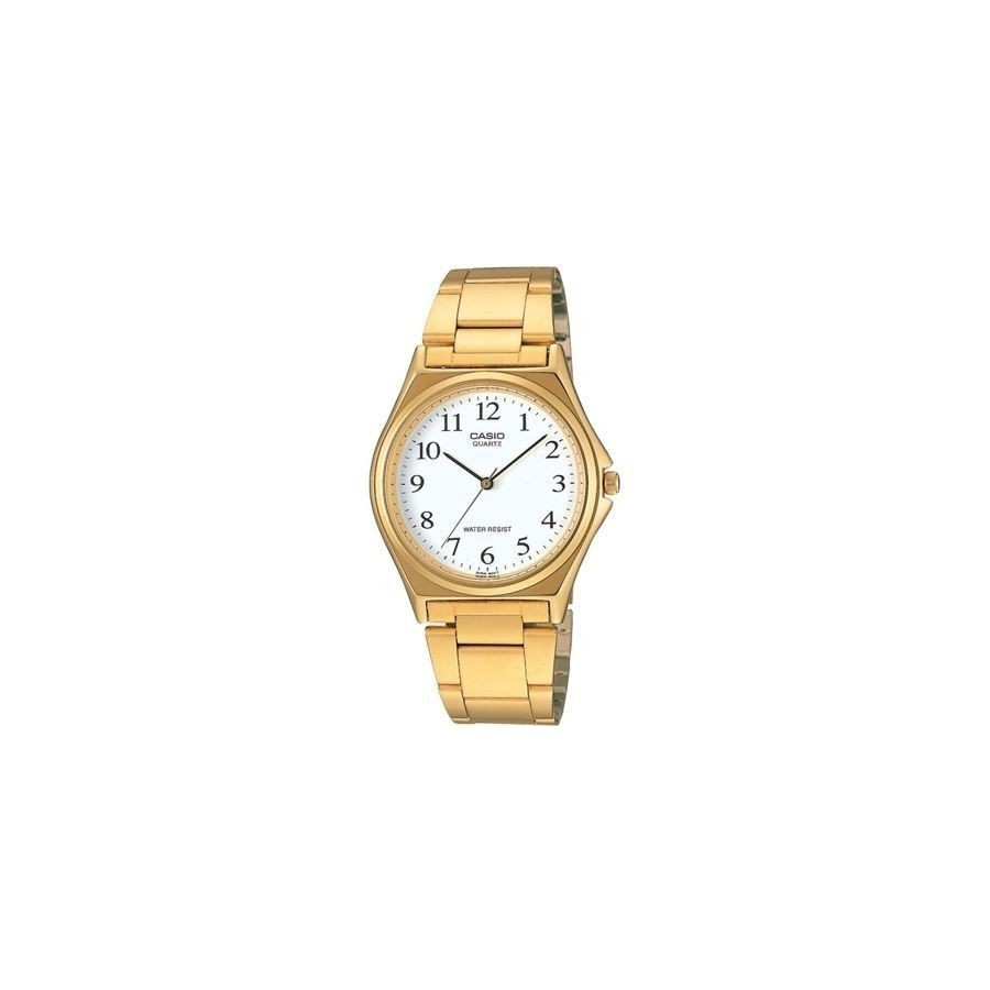 Reloj Analogico Casio Mtp-1130 Grande Retro Fashion Dorado Barato