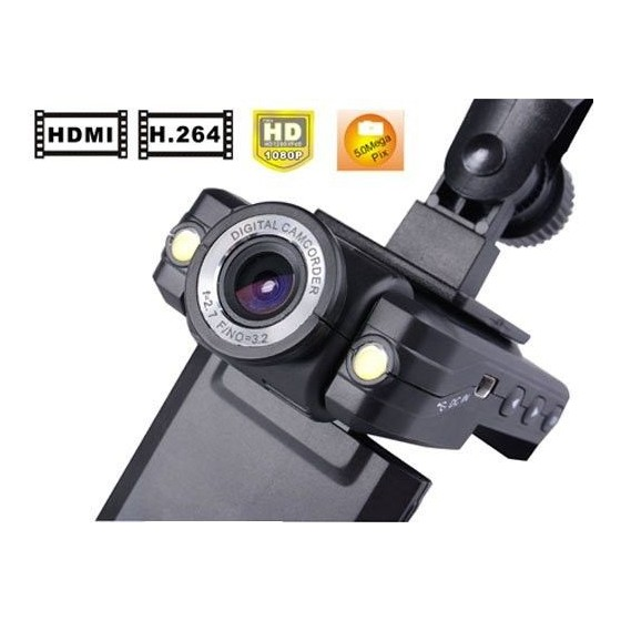 Camara HD 1080P de COCHES SEGURIDAD LED Monitor y grabador sd barata