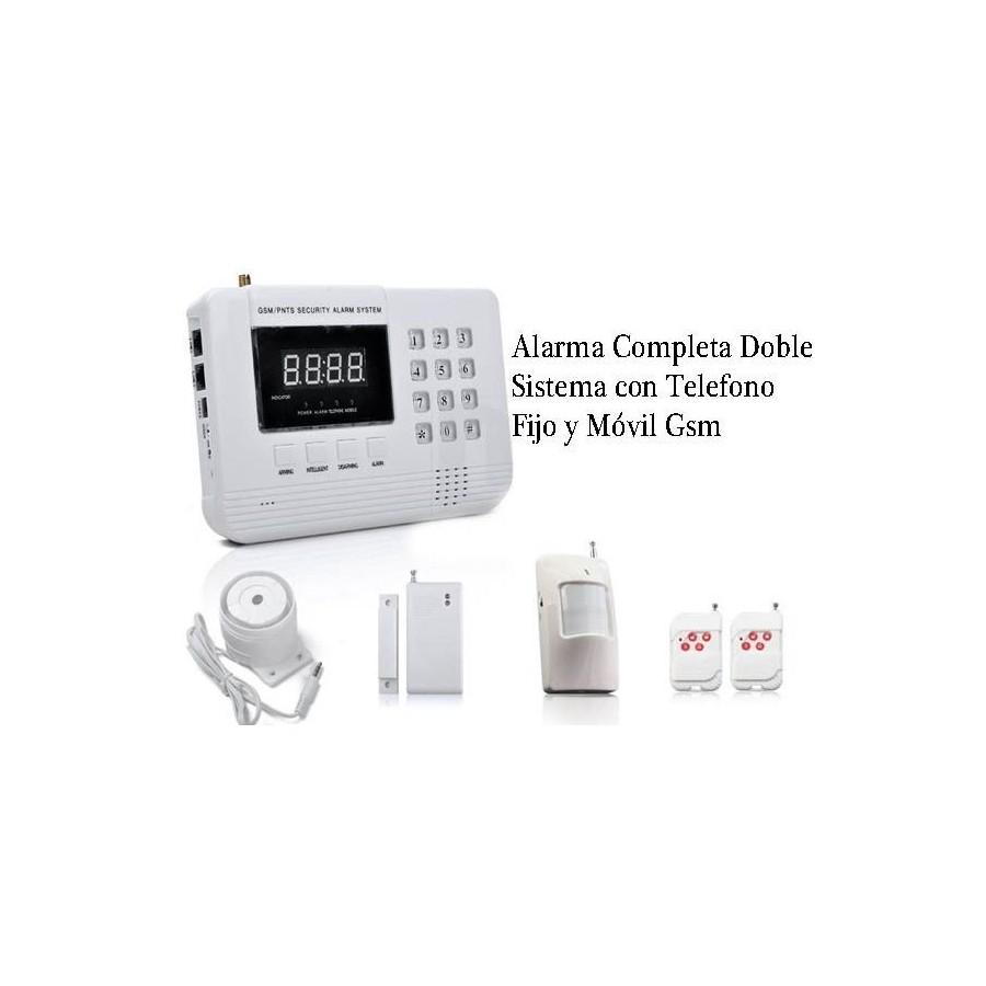 ALARMAS HOGAR GSM Movil y Fijo baratas Digital para Tiendas Casas Chalet