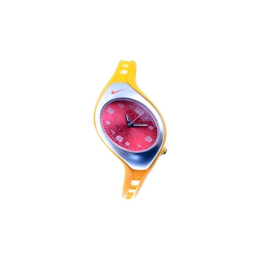 Reloj Nike deportivo Rojo y Amarillo analogico Barato
