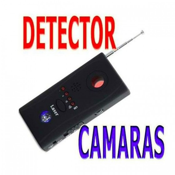 DETECTOR de cámaras ocultas ESPIA y redes wifi