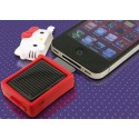 CARGADOR SOLAR Iphone Hello Kitty 3GS 4G 4S Ipod Bateria Barato