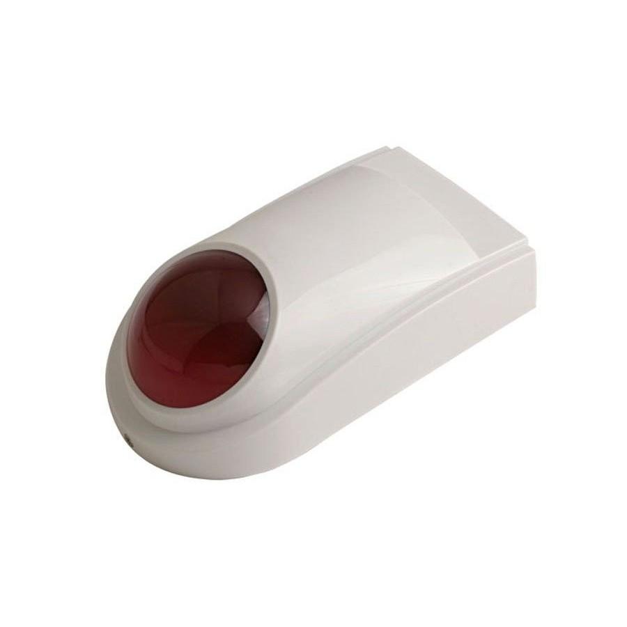 SIRENA EXTERIOR Barata Resistente y con Luz para alarmas