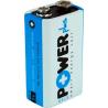 PILA para detectores de alarma barata 9v alcalina
