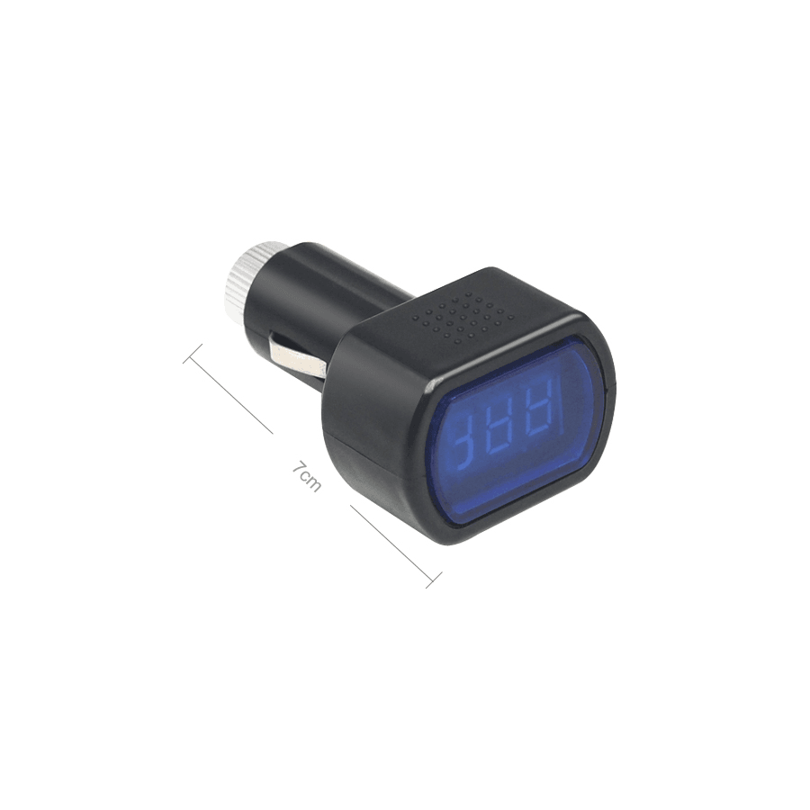 Medidor de Voltaje bateria barato Mechero Coche