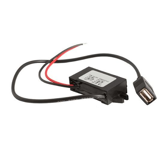 CONVERSOR 12 voltios a USB 5V convertidor Barato