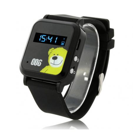 Reloj GPS para niños con localizador por satelites