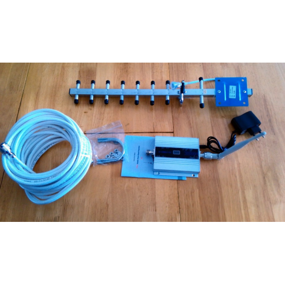 Amplificador de cobertura Repetidor 3G 2100 Antena barato