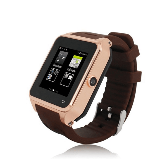 Reloj con Android y telefono movil wear