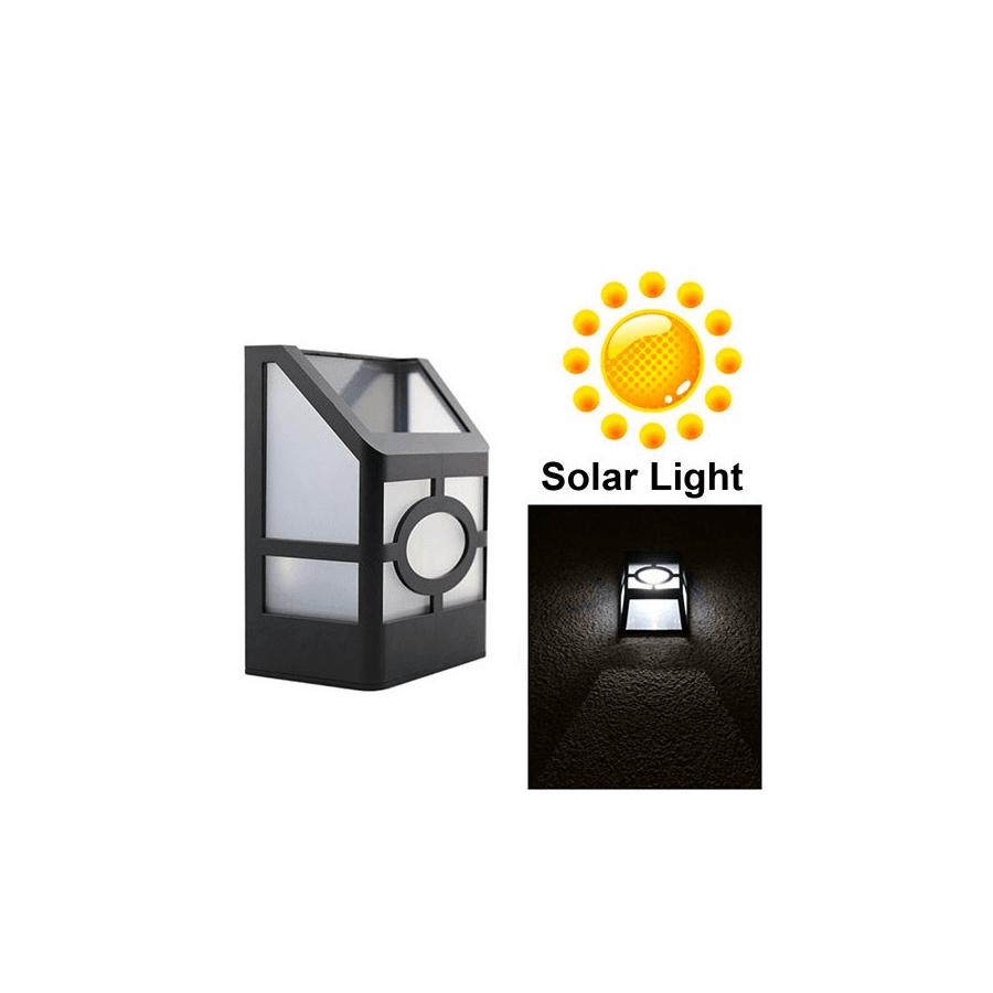 Aplique farolillo solar lampara led barata - Aplique solar exterior ...