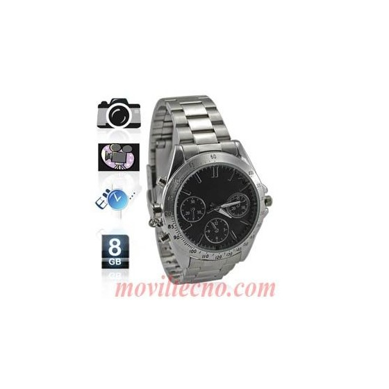 RELOJ ESPIA 8Gb Camara Oculta Grabacion FOTOS Video Audio Barato