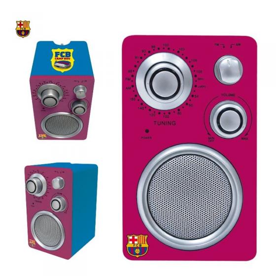 Radio del Barca F.C. BARCELONA sobremesa barata