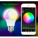 BOMBILLA de LED Multicolor Bluetooth barata
