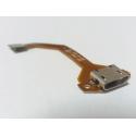 Conector de carga con cable flex