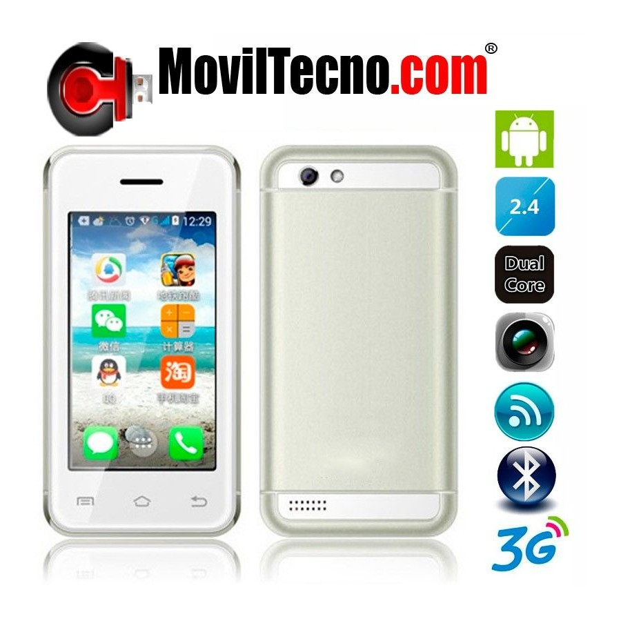 Movil Android 3G MINI 2,4 Pulgadas Libre WIFI Barato