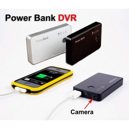 Batería larga duración cámara oculta Espía Power Bank