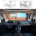 Espejo retrovisor con GPS Android y doble camara