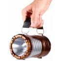 Lampara linterna SOLAR barata con luz LED recargable