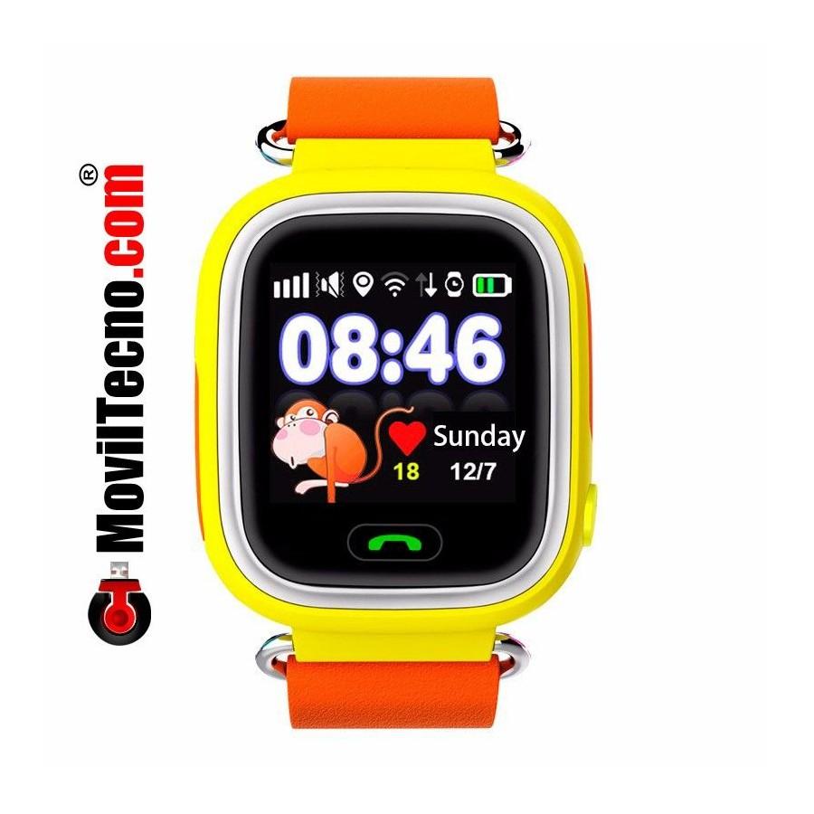 Pulsera localizador GPS niños con reloj y móvil