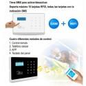 Alarma WIFI sin cuotas y GSM