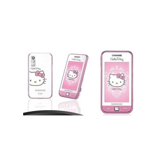 Telefono Movil HELLO KITTY Rosa Samsung Libre Tactil Barato
