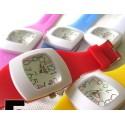 Reloj Analogico de Goma Colores Fashion Barato
