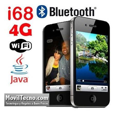 i68 4G WIFI Sciphone Movil dual SIM Libre Tactil Barato