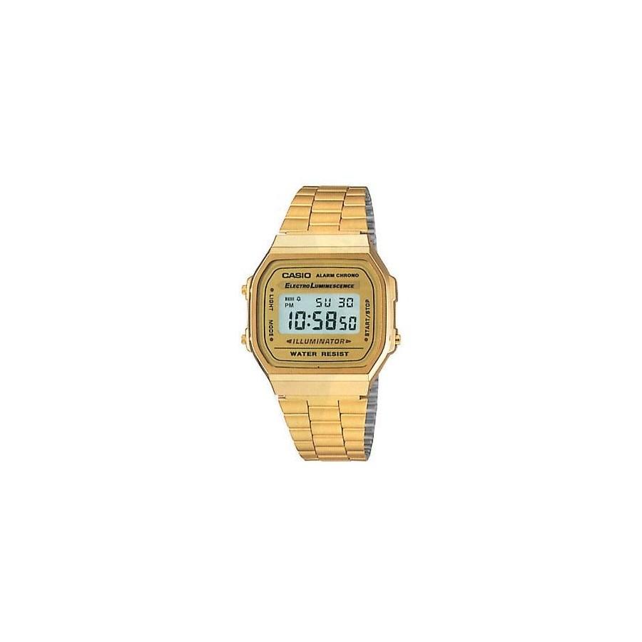 Reloj Digital Casio a168 Retro Vintage Fashion Dorado Barato