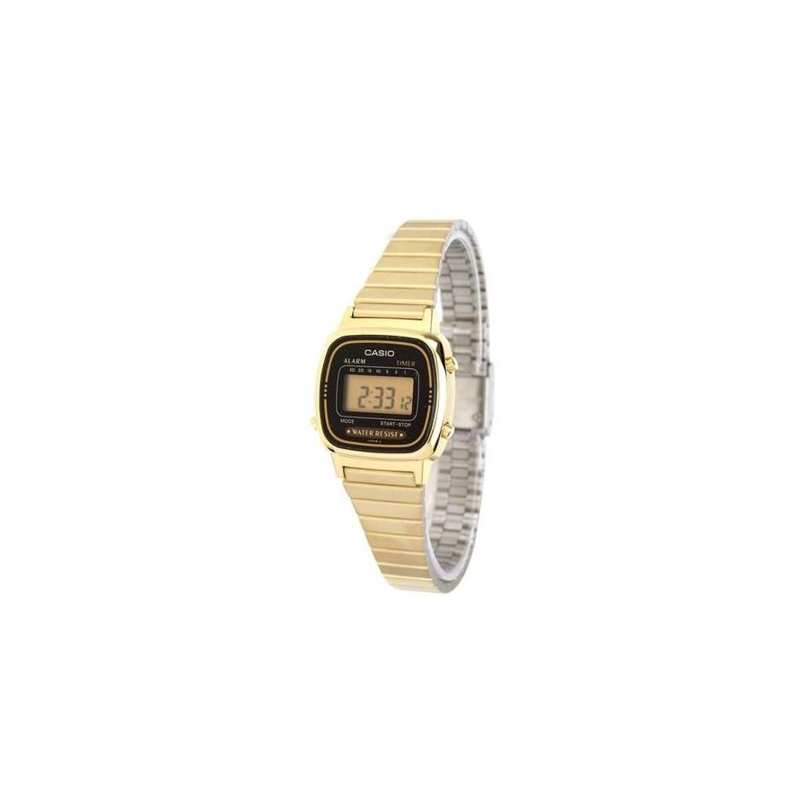 Reloj Digital Casio de Mujer LA670WGA Dorado Retro Barato
