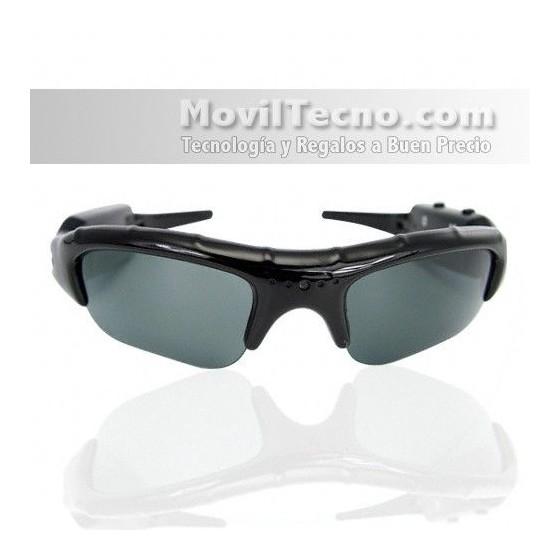 Gafas de Sol Espia para grabaciones ocultas y deportes Baratas