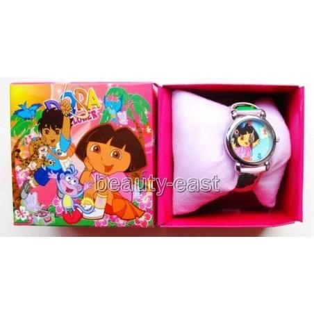 Reloj de Dora la Exploradora para niños y niñas Barato