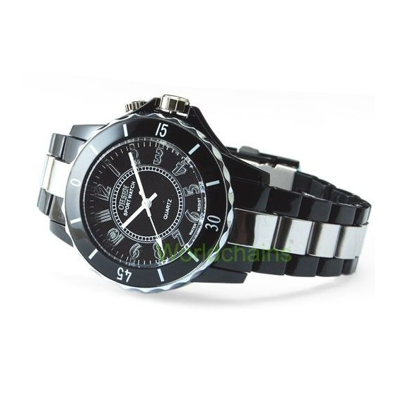 Reloj LED 7 colores Analogico Acero Moda Fashion Barato