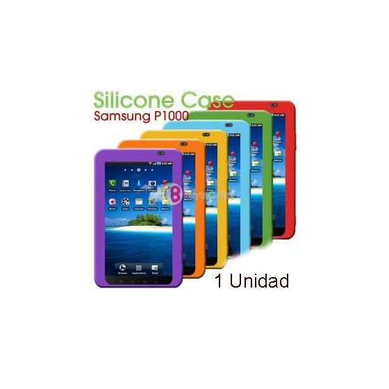 Funda Silicona para Samsung TAB P1000 Galaxy Barata