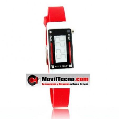 Reloj Digital Fashion con Brazalete de Silicona Barato