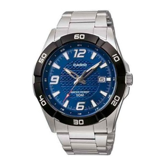 Reloj Casio ACERO Caballero ANALOGICO con calendario Barato