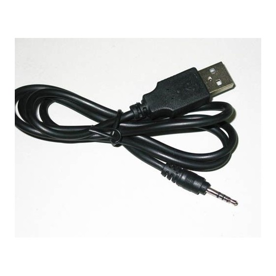 CABLE Usb a JACK LARGO 2,5 mm Barato para RELOJES ESPIA