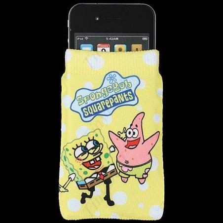 Funda Bob Esponja Tela CALCETIN para Iphone 4 Barata