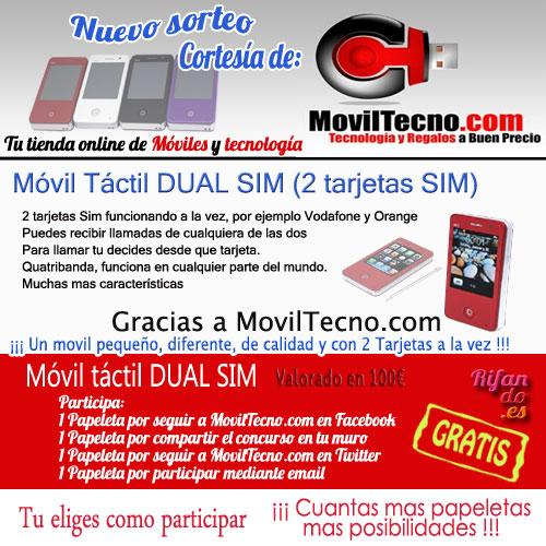 Sorteo de MovilTecno.com
