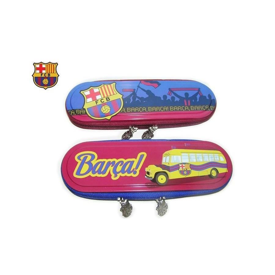 PLUMIER Estuche F.C. Barcelona lapicero portatodo, Barato