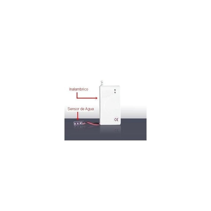 Sensor de Alarma detector de agua e inundaciones inalambrico barato
