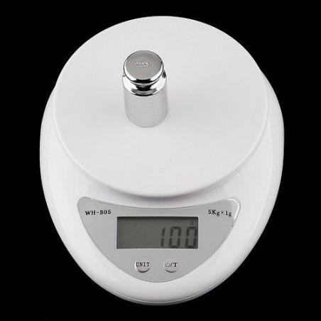 Balanza Bascula Peso Digital Barata Cocina Oficina