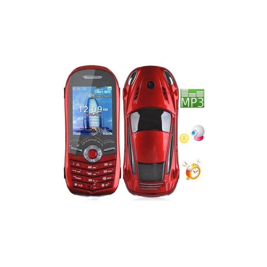 Movil COCHE Libre Telefono dual SIM 2 Tarjetas Barato