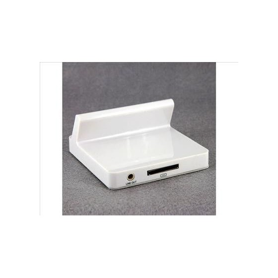 Soporte pie Dock Base Cargador para Ipad 2  Blanco Barato