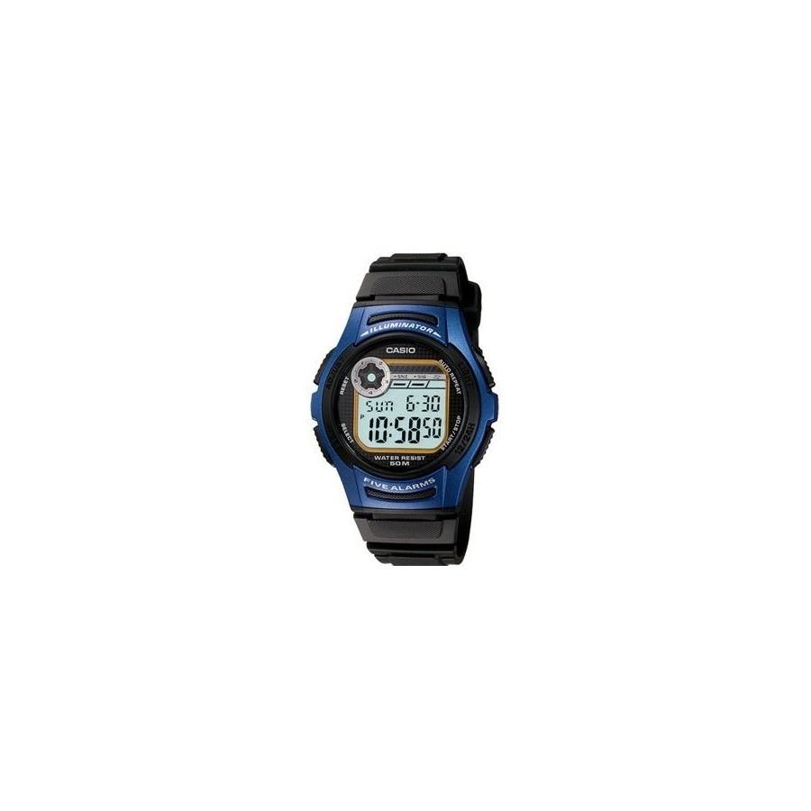 Reloj Digital Casio W-213 Acuatico Resistente 50m Barato