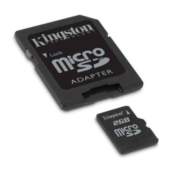 Tarjeta Micro Sd 2 Gb con adaptador de Regalo Barata