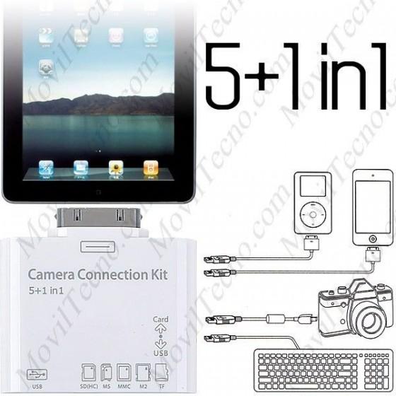 Kit de conexion IPAD 1,2,3 para camaras USB Barato