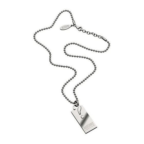 Colgante de Acero Moschino Original con cadena Barato