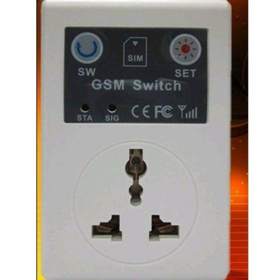 Control Remoto por GSM Móvil de Encendido Domótica Barato