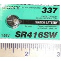 PILA para pinganillo espia barata bateria audifono sr416sw 337